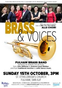 """Brass and Voices"""
