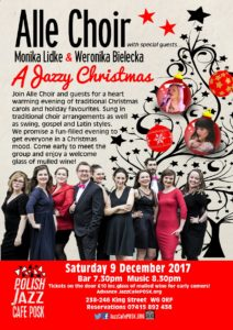 A Jazzy Christmas with Alle Choir and special guests