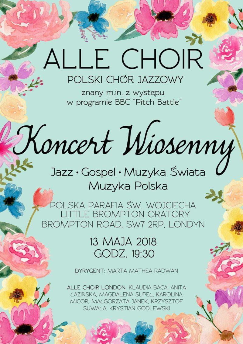 Alle Choir - Koncert Wiosenny