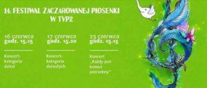 14 Festiwal Zaczarowanej Piosenki im Marka Grechuty.