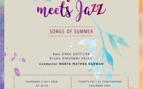 "A cappella meets jazz"" -"