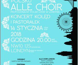 Zima po polsku – koncert koled i pastoralek w wykonaniu Alle Choir London